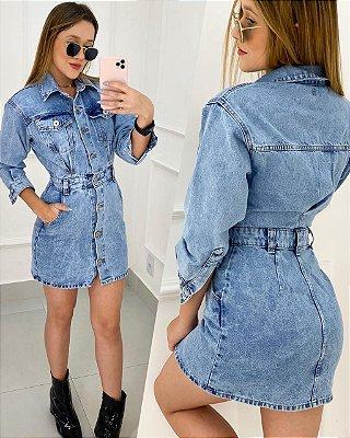 Vestidinho Jeans