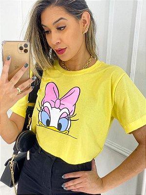 T-Shirt Cropped Margarida