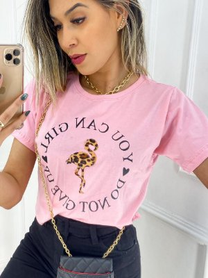 T-Shirt Cropped Premium You Can