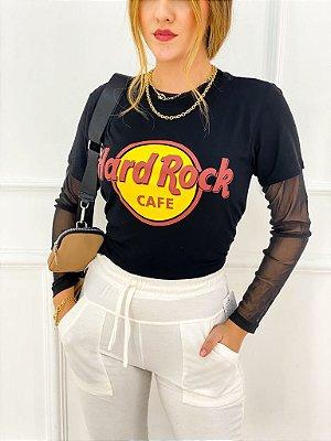 T-Shirt Viscolaicra Hard Rock