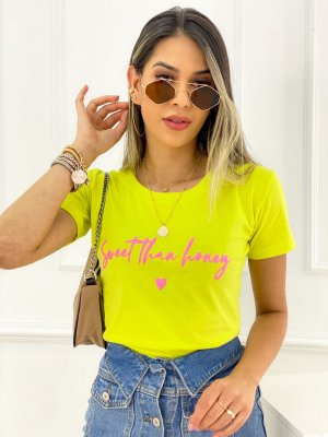 T-Shirt Estampas Sweet Than Honey