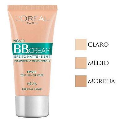 BB Cream Efeito Matte 5em1 L'Oréal Paris