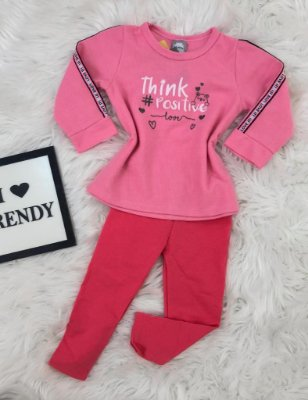 INFANTIL - Conjunto Think Positive