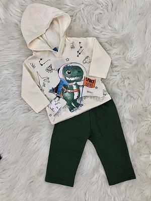 INFANTIL/BABY - Conjunto Capuz Astro Dino