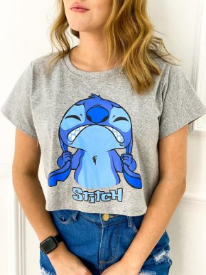 T-Shirt Cropped Stitch