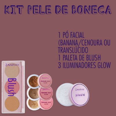 KIT 5 PELE DE BONECA