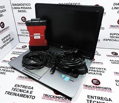 Kit Scanner Ford VCM II + Notebook