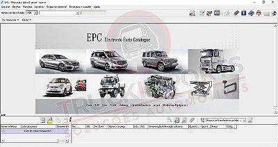 Mercedes EPC Catálogo de Peças
