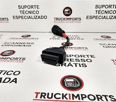 Cabo adaptador de 4 pinos para geradores Scania