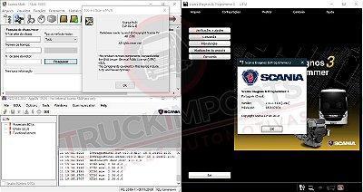 Pacote Promocional Scania: SDP3 2.41 + XCOM + Multi + SOPS