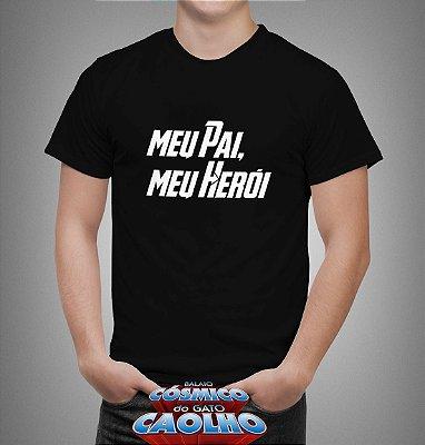Camiseta - Pai Herói