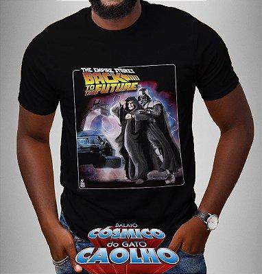 Camiseta - The Empire strikes back to the future