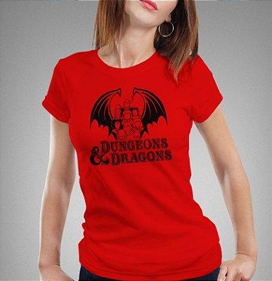 Camiseta - Caverna do Dragão
