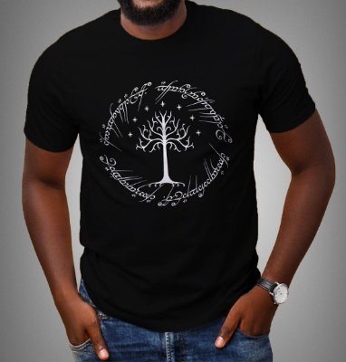 Camiseta - Árvore Branca de Gondor