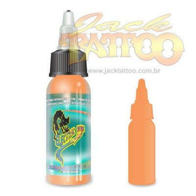 Tinta para Tatuagem - Ref 23 - Electric Ink 30ml - Bege