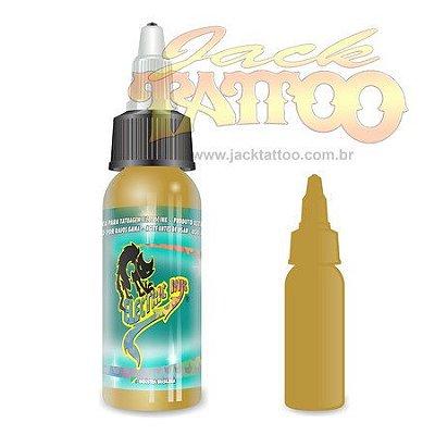 Tinta para Tatuagem - Ref 30 - Electric Ink 30ml - Amarelo Ocre
