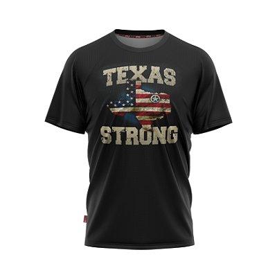 Camiseta Estilo Country Texas Strong