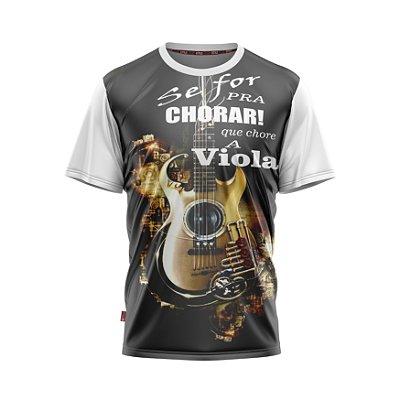 Camiseta Estilo Country Chore a Viola