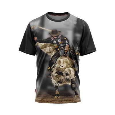 Camiseta Estilo Country Peão de Rodeio