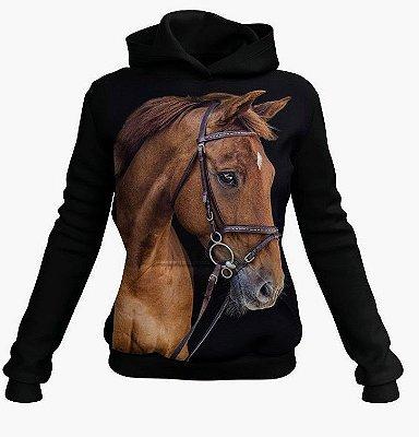 Moletom Country Cowgirl Cavalo Bruto