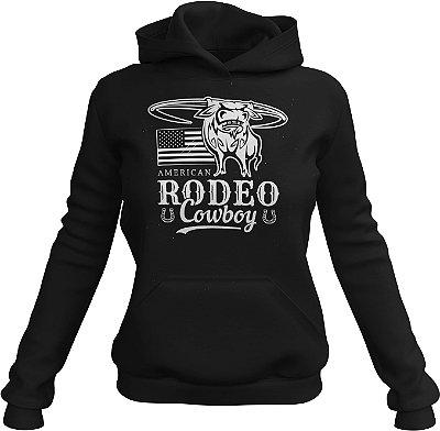 Moletom Moda Country Cowgirl American Rodeo