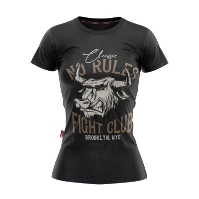 Baby Look Moda Country Cowgirl no Rules Fight Club