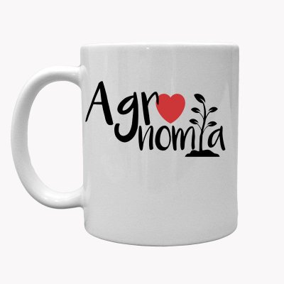 Caneca Country Cowgirl Cowboy Agronomia