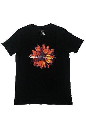 Camiseta Vans Feminina Flower Power