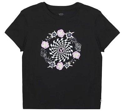 Camiseta Vans Circle Daze Crew