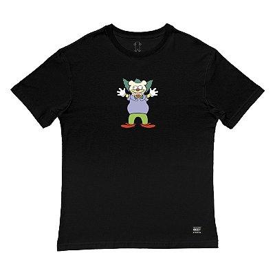 Camiseta Grizzly Clownin - Black