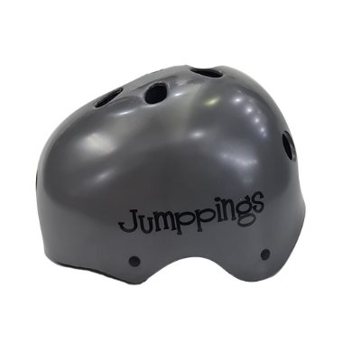 Capacete Jumppings Cinza