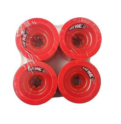 Roda Longboard Rayne Lust 70mm 80a Vermelha