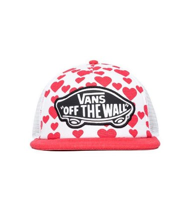 Boné Vans Beach Girl Trucker Hat Hearts
