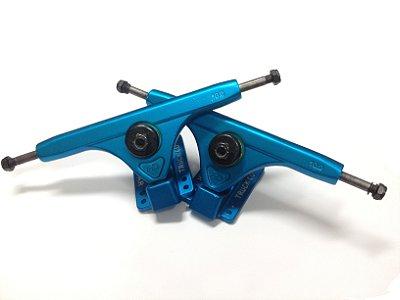 Truck Longboard Hondar invertido V2 Azul