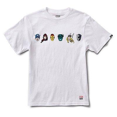 Camiseta Vans x Marvel Characteres