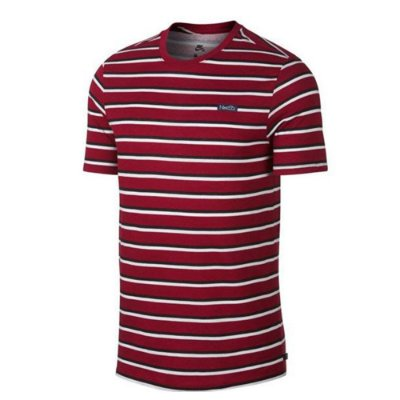 Camiseta Nike Sb Stripe red