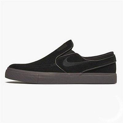 Tênis Nike SB Zoom Janoski Slip On Preto/Preto