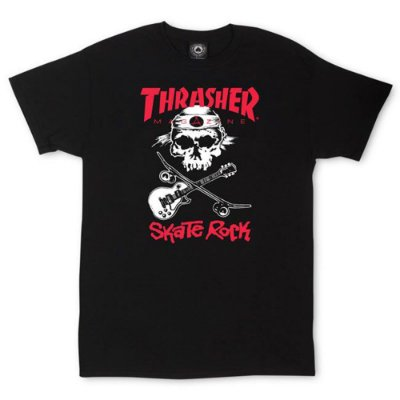Camiseta Thrasher Skate Rock