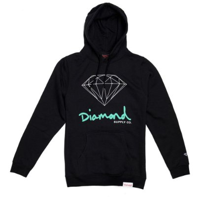 Moletom Diamond OG Sign Preto