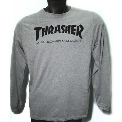 Camiseta ML Thrasher Logo (mescla)