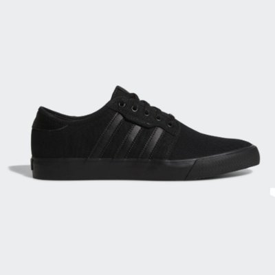 Tênis Adidas Seeley CNVS Vulcanizado All Black