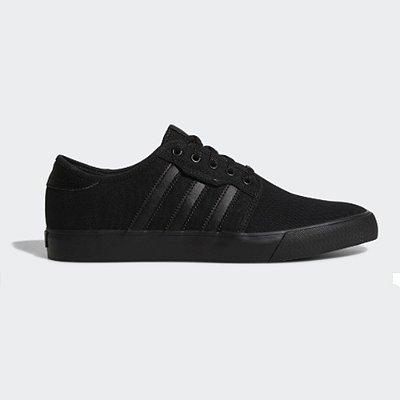 Tênis Adidas Seeley CNVS Vulcanizado All Black