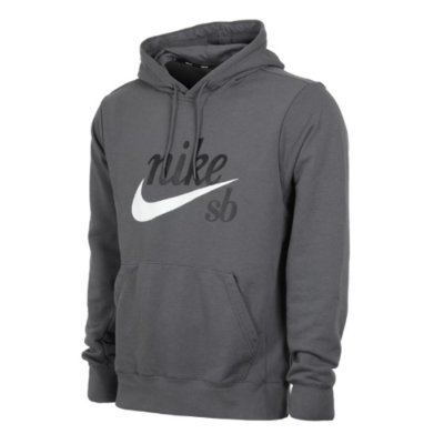 Moletom Nike Sb Hoddie Washed Icon Cinza