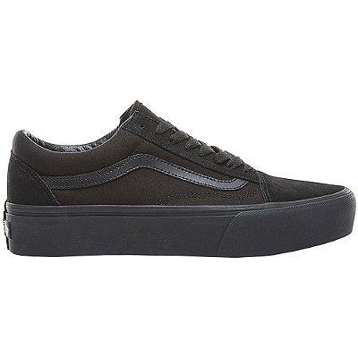 Tênis Vans Old Skool Platform Black/Black