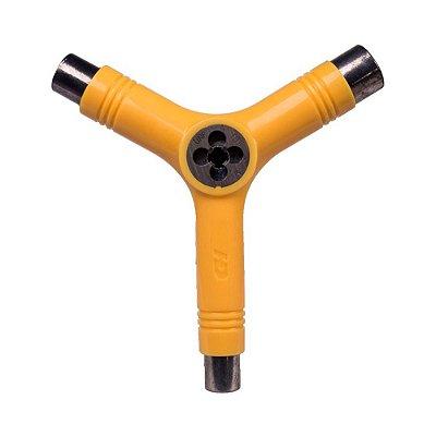 Chave Hondar Y Multifuncional (Amarela)