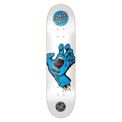 Shape Santa Cruz Screaming Hand Branco/Azul