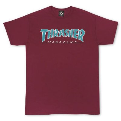 Camiseta Thrasher Outlined