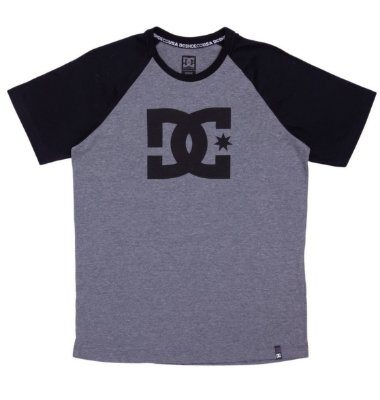 Camiseta DC Shoes Esp Juvenil Raglan Star