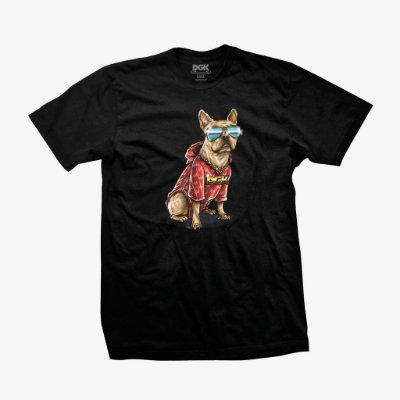 Camiseta DGK Frenchie Tee Black