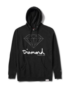 Moletom Diamond OG Sign Hoodie